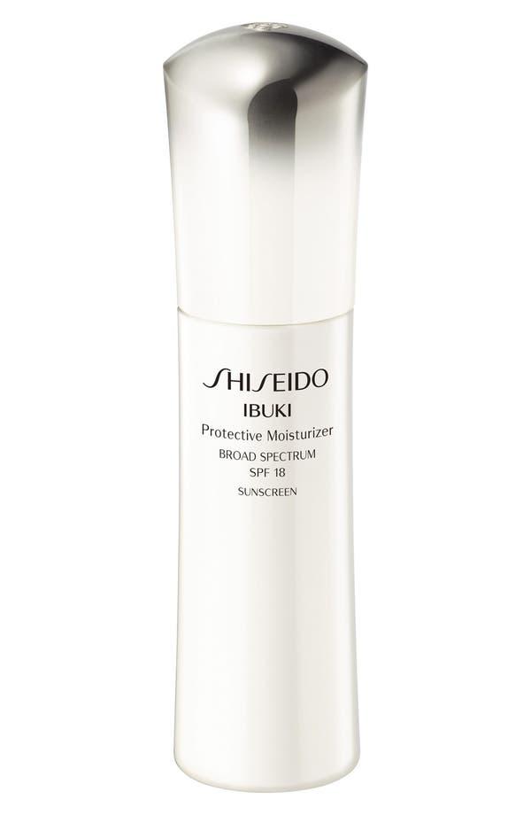 Main Image - Shiseido 'Ibuki' Protective Moisturizer SPF 18