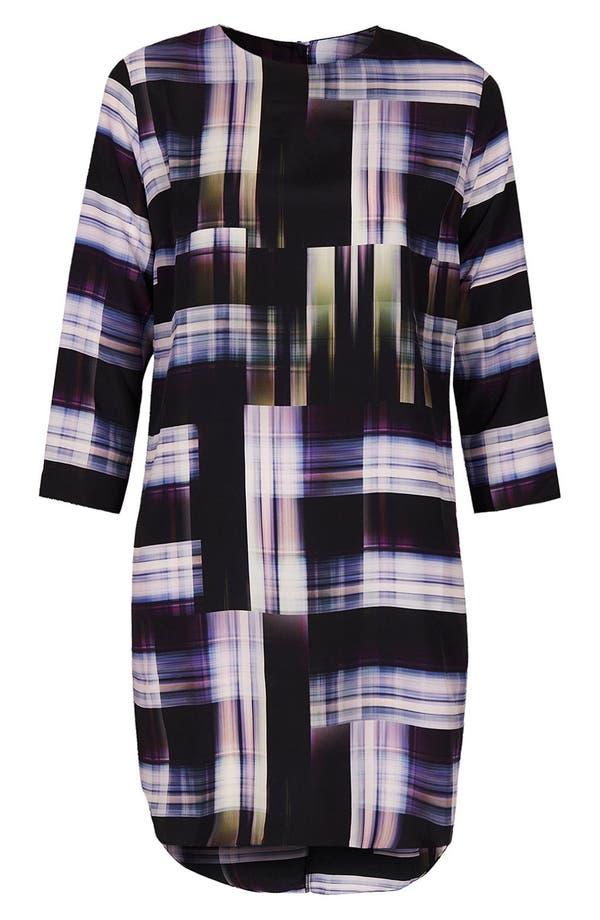 Alternate Image 3  - Topshop 'Camera Check' Print Tunic Dress