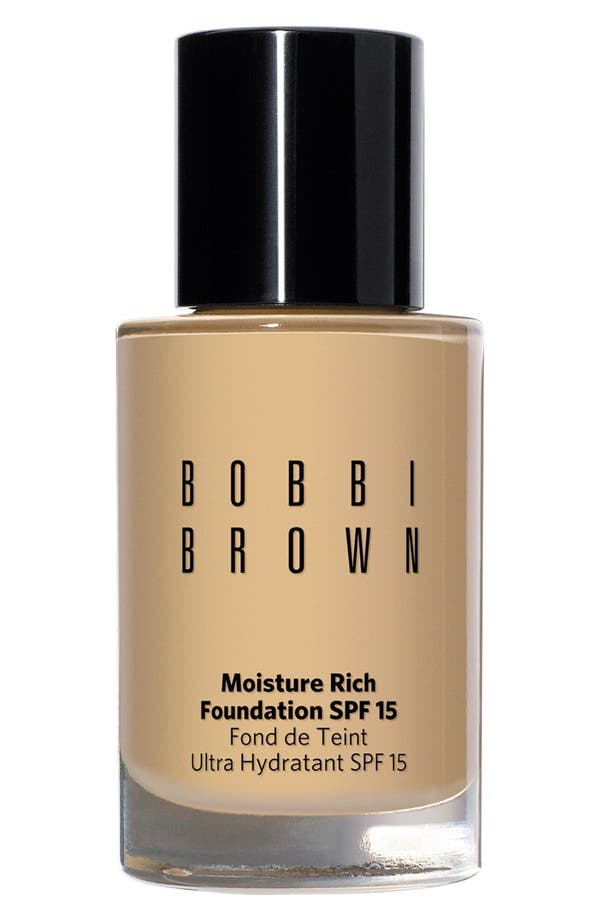 Alternate Image 1 Selected - Bobbi Brown Moisture Rich Foundation SPF 15