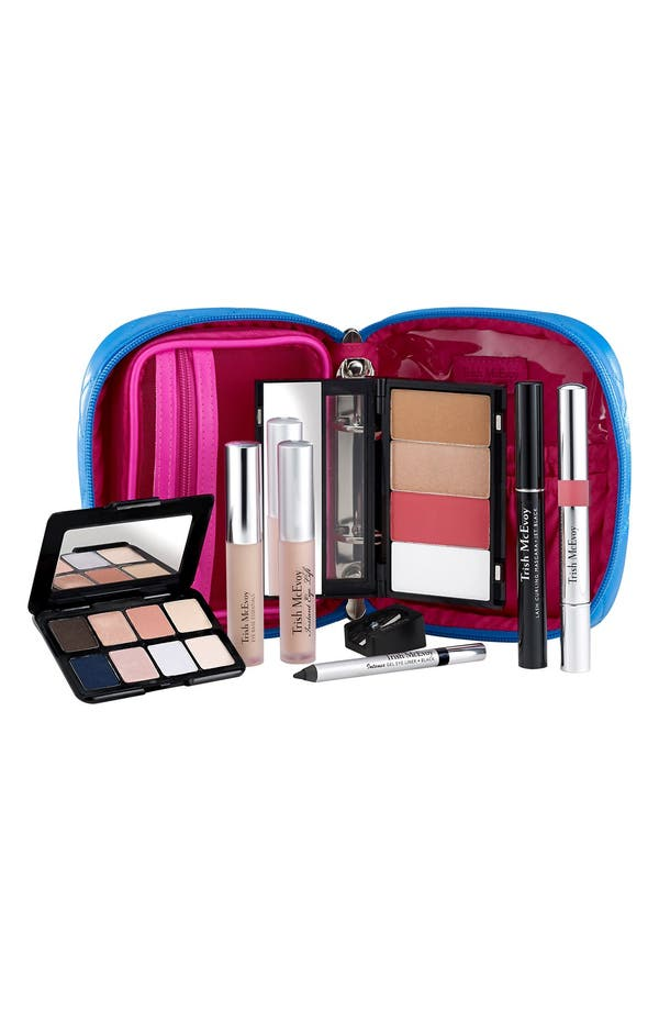 Alternate Image 1 Selected - Trish McEvoy Power of Makeup Planner® Collection Azure (Limited Edition) ($330 Value)