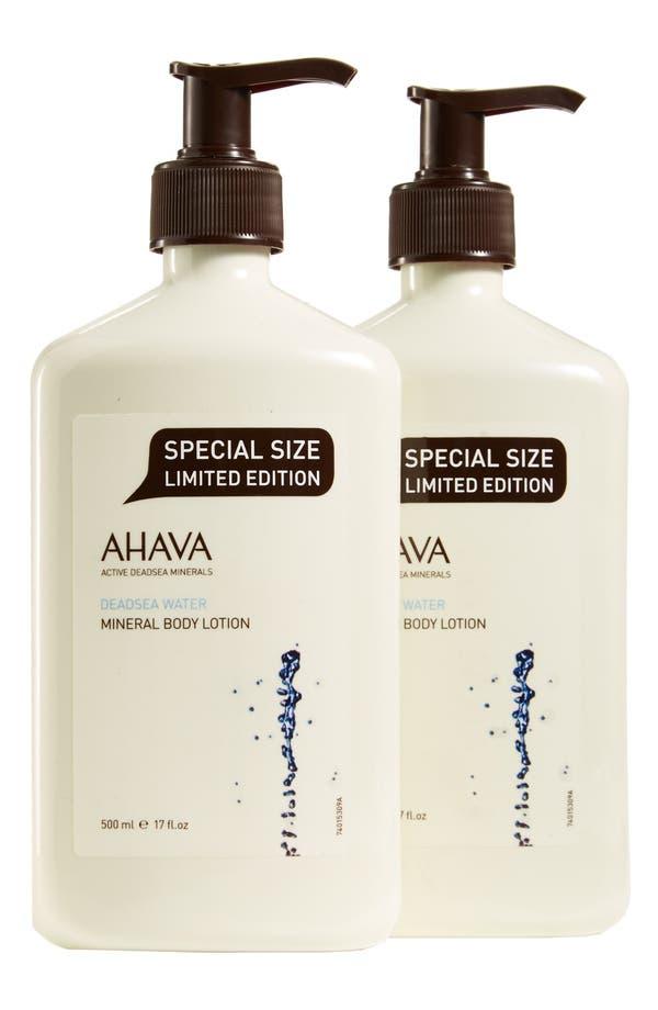 Main Image - AHAVA Mineral Body Lotion Duo ($96 Value)