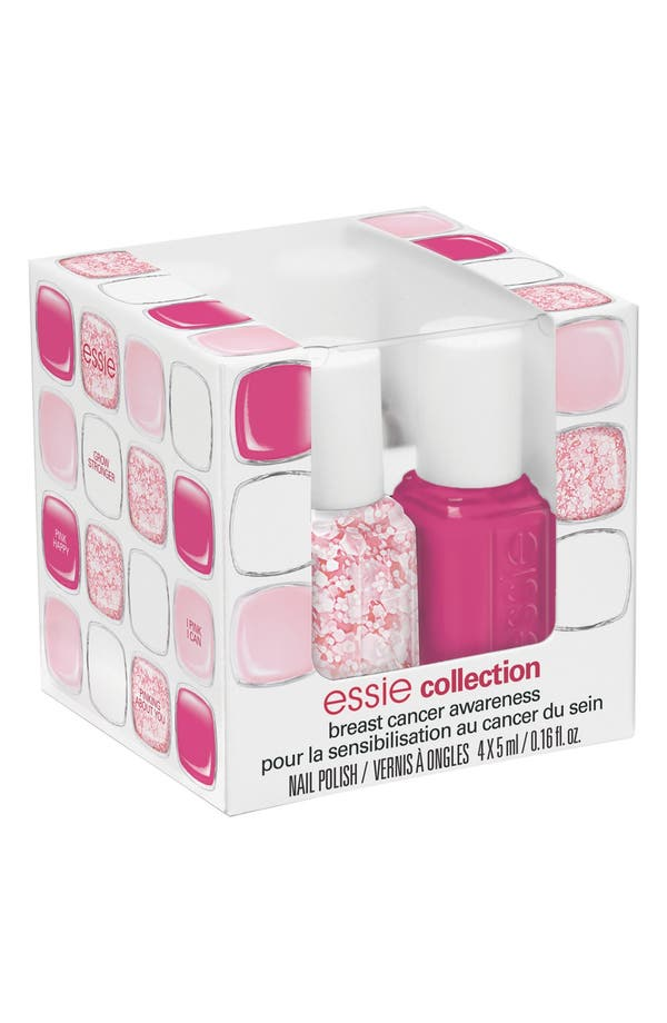 Alternate Image 2  - essie® 'Breast Cancer Awareness' Mini Four-Pack