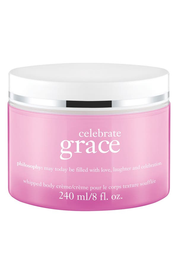 Alternate Image 1 Selected - philosophy 'celebrate grace' whipped body crème (Limited Edition)