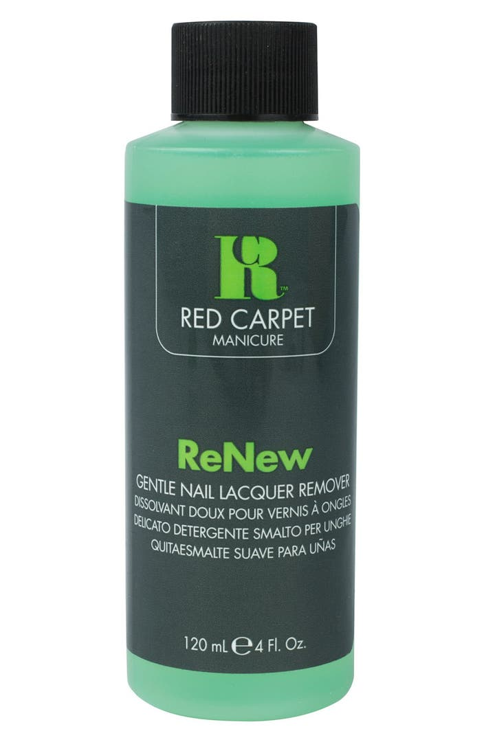 Red Carpet Manicure Renew Gentle Nail Lacquer Remover