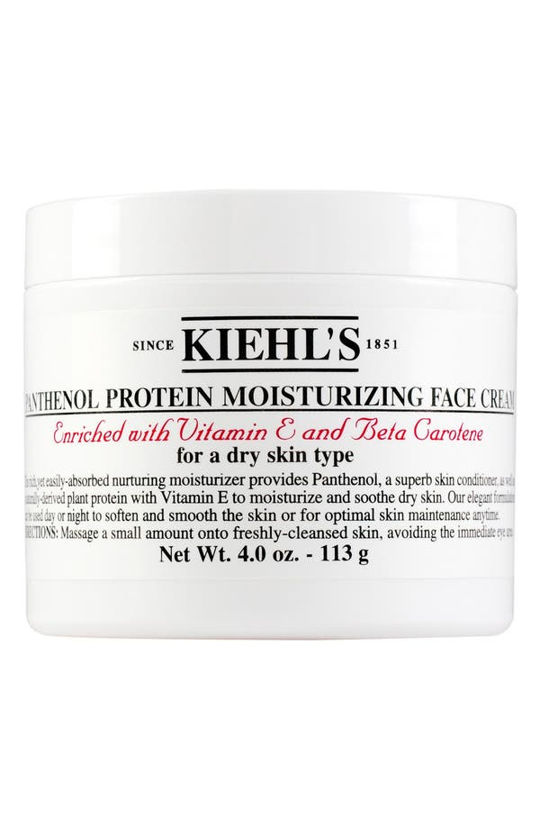 Alternate Image 1 Selected - Kiehl's Since 1851 Panthenol Protein Moisturizing Face Cream
