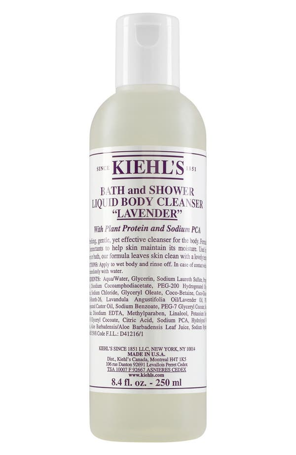 Alternate Image 1 Selected - Kiehl's Since 1851 Bath & Shower Liquid Body Cleanser (Lavender)