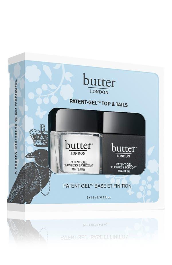 Alternate Image 2  - butter LONDON 'Patent-Gel Top & Tails' Set
