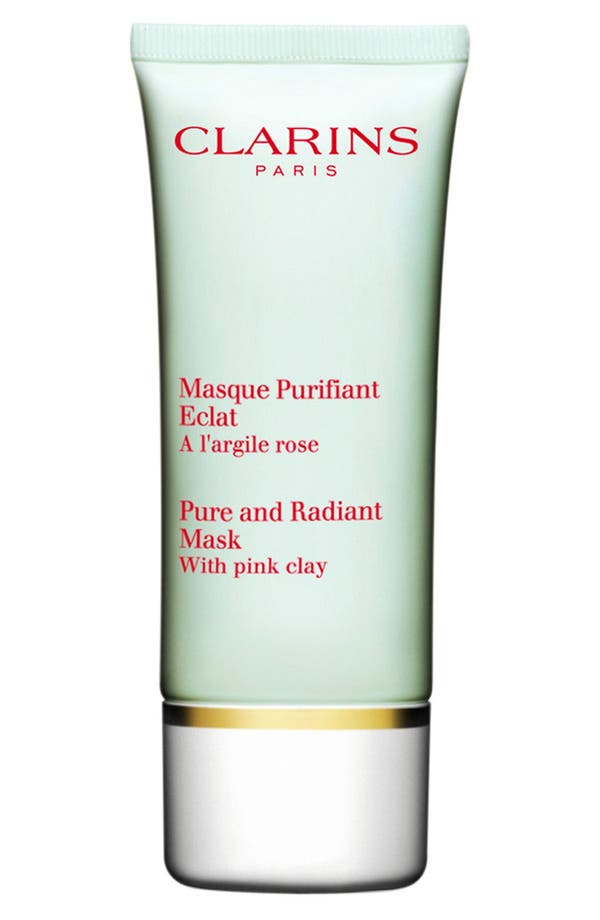 Alternate Image 1 Selected - Clarins 'Truly Matte' Pure & Radiant Mask