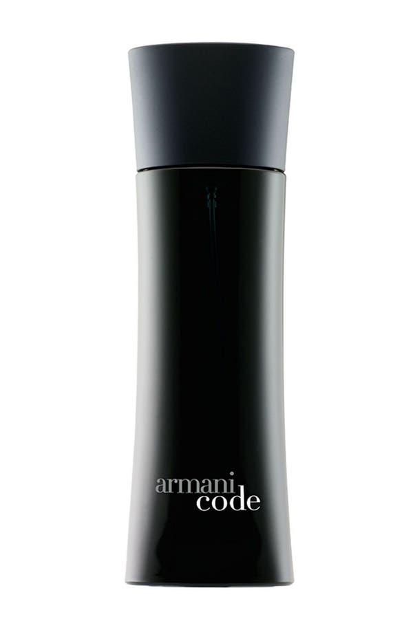 Alternate Image 1 Selected - Armani Code Eau de Toilette Spray