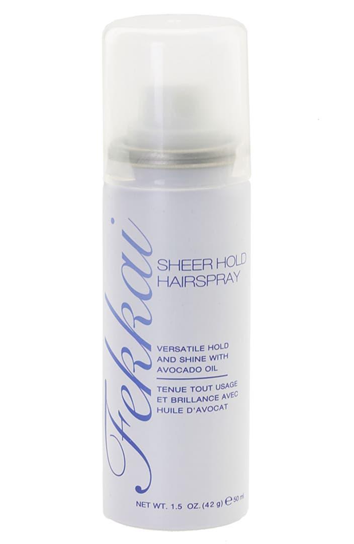 Fekkai sheer hold hairspray 1 5 oz nordstrom - Alternative uses of hairspray ...
