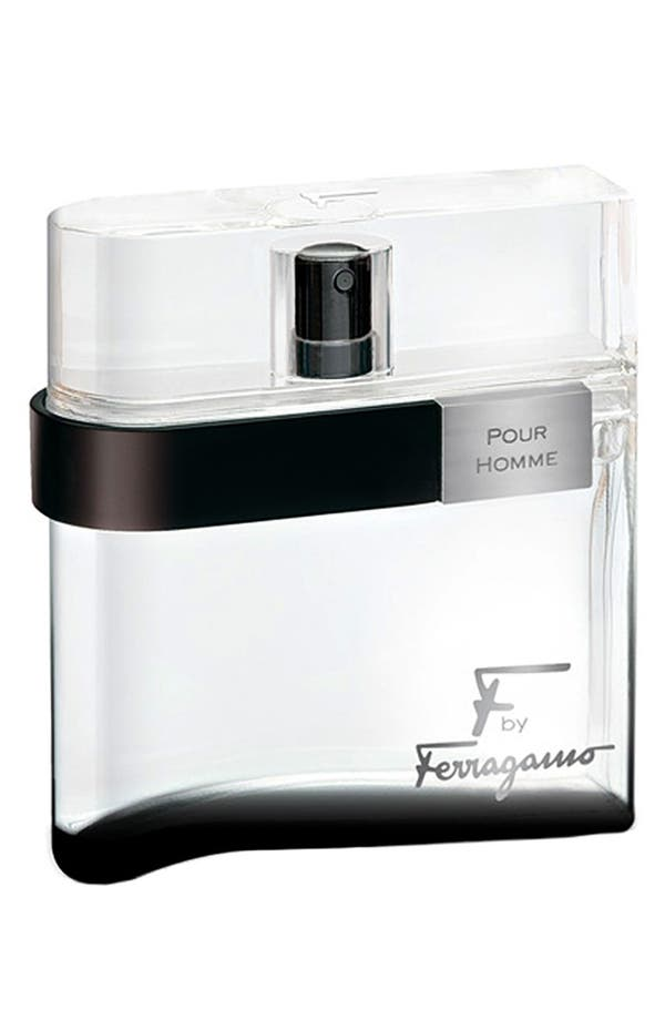 Alternate Image 1 Selected - Salvatore Ferragamo 'F by Ferragamo pour Homme Black' Eau de Toilette Spray