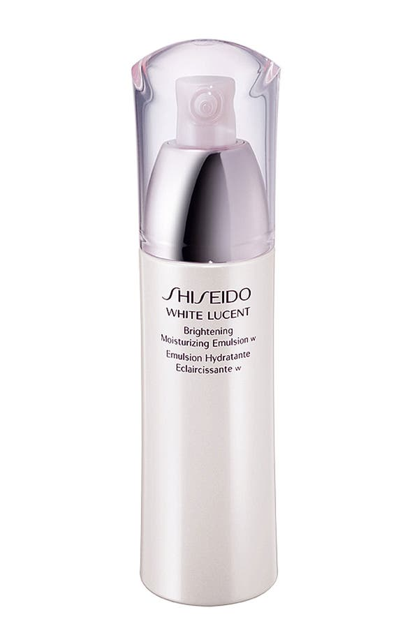 Alternate Image 1 Selected - Shiseido 'White Lucent' Brightening Moisturizing Emulsion