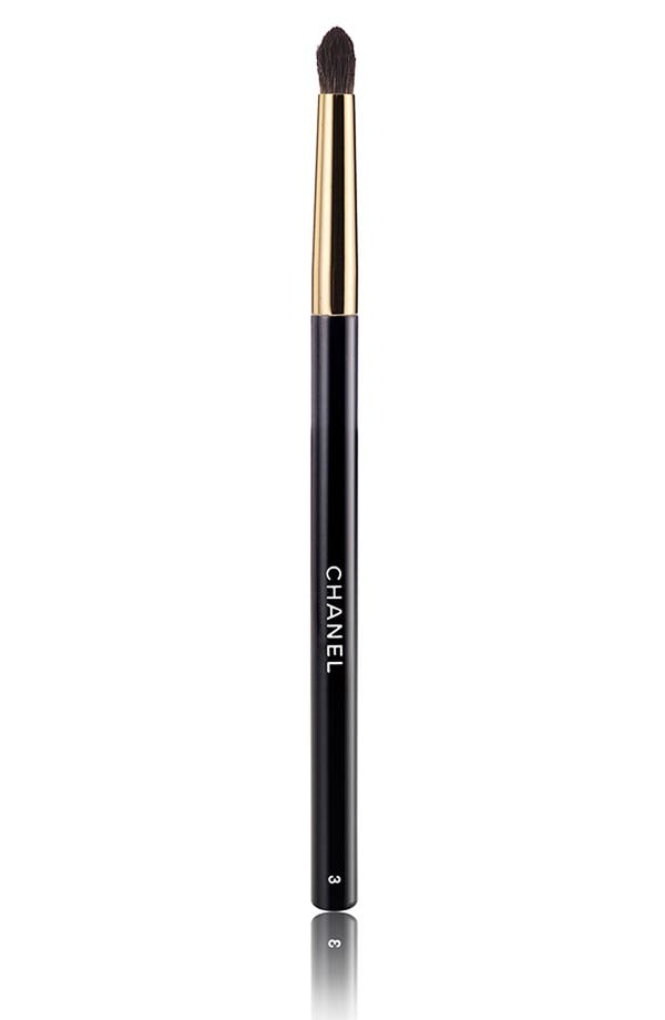 Main Image - CHANEL PINCEAU PAUPIÈRES ESTOMPE #3 EYESHADOW CREASE BRUSH