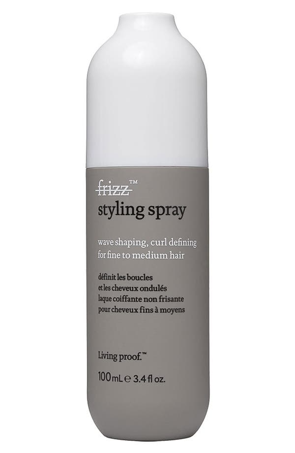 Alternate Image 1 Selected - Living proof® 'No Frizz' Wave Shaping, Curl Defining Styling Spray for Fine to Medium Hair