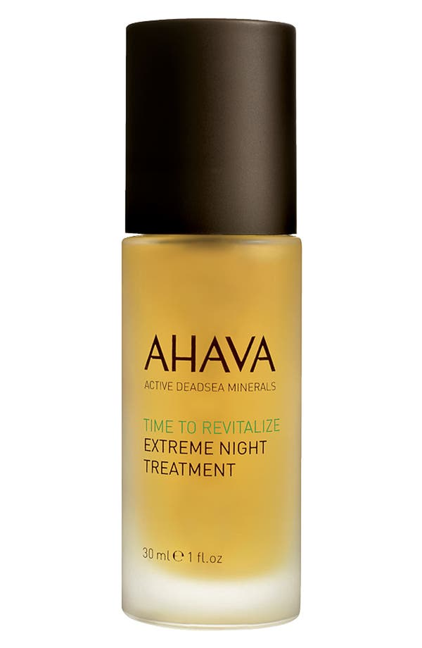 Alternate Image 1 Selected - AHAVA 'Time to Revitalize' Extreme Night Treatment