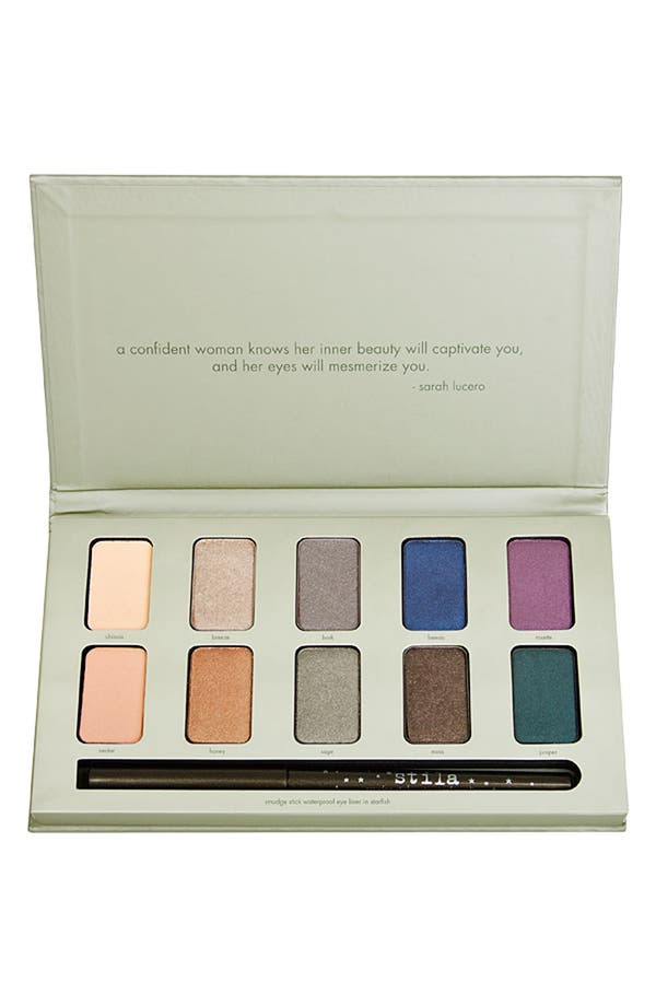 Alternate Image 1 Selected - stila eyeshadow & smudge stick palette ($118 Value)