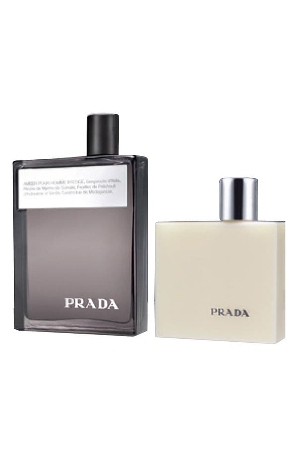 Alternate Image 1 Selected - Prada 'Amber pour Homme Intense' Gift Set ($125 Value)