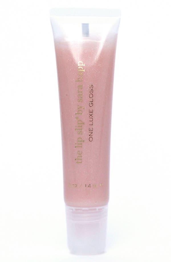 Main Image - sara happ® The Lip Slip® One Luxe Clear Shine Lip Gloss