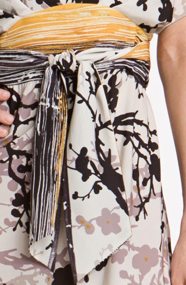 Alternate Image 3  - Suzi Chin for Maggy Boutique Crêpe de Chine Maxi Dress