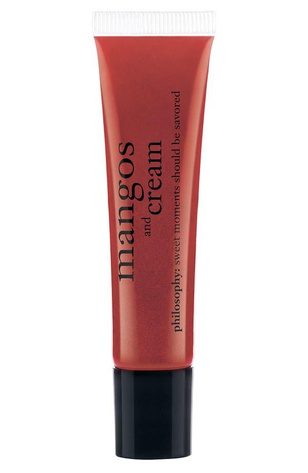 Main Image - philosophy 'mangos & cream' lip shine