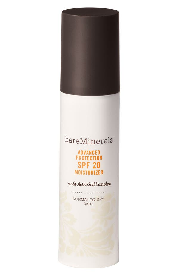 Alternate Image 1 Selected - bareMinerals® 'Advanced Protection Normal/Dry' Moisturizer SPF 20