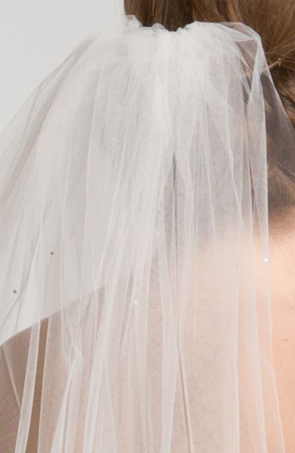 Alternate Image 2  - Nina 'Demi' Single Tier Veil