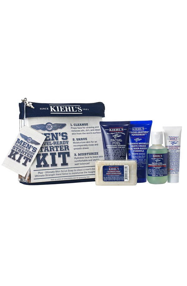 Alternate Image 1 Selected - Kiehl's Since 1851 'Men's Travel-Ready' Starter Kit ($46.85 Value)