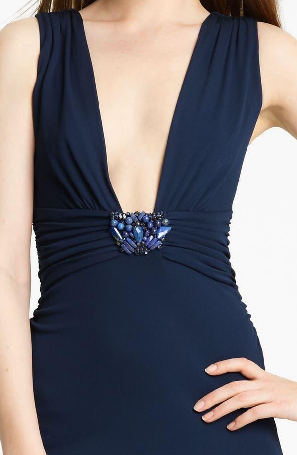 Alternate Image 3  - Roberto Cavalli Embellished Jersey Gown