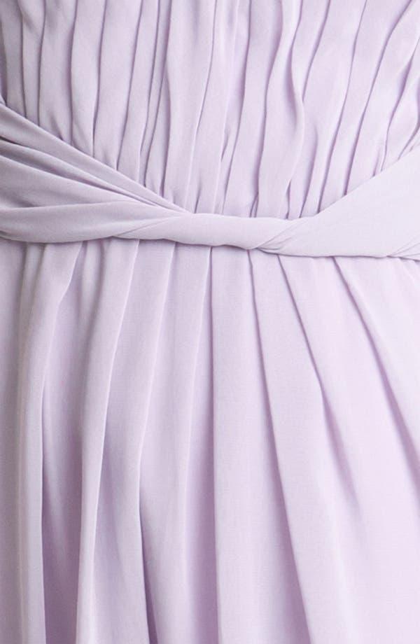 Alternate Image 3  - Donna Morgan Strapless Chiffon Dress