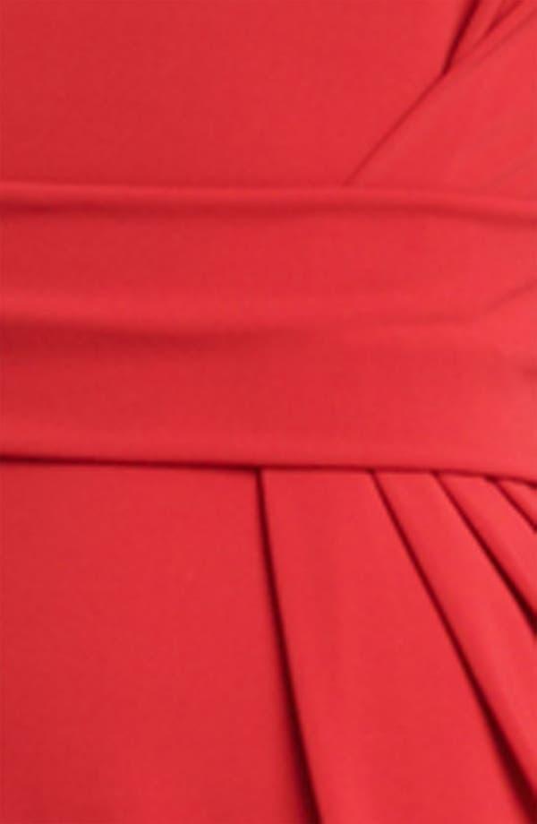 Alternate Image 3  - Armani Collezioni Cutout Back Matte Jersey Dress