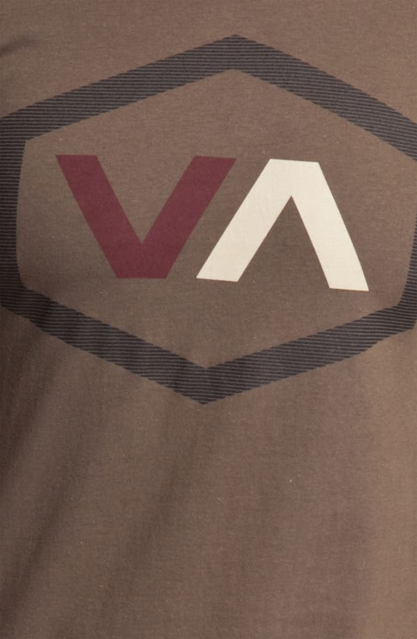 Alternate Image 3  - RVCA 'Oiler' Graphic T-Shirt