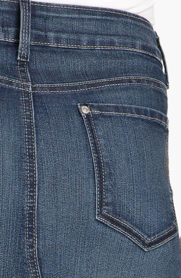 Alternate Image 3  - NYDJ 'Brooke' Denim Maxi Skirt