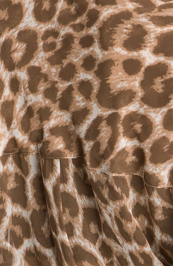 Alternate Image 3  - Free People Animal Print Chiffon Shirt