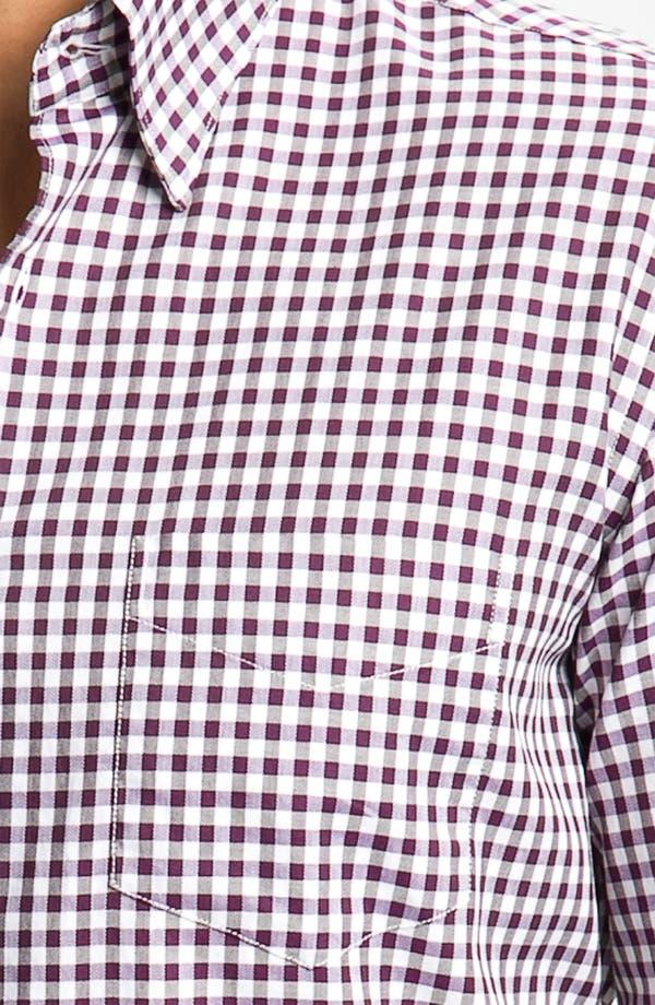 Alternate Image 3  - Canali Regular Fit Woven Shirt