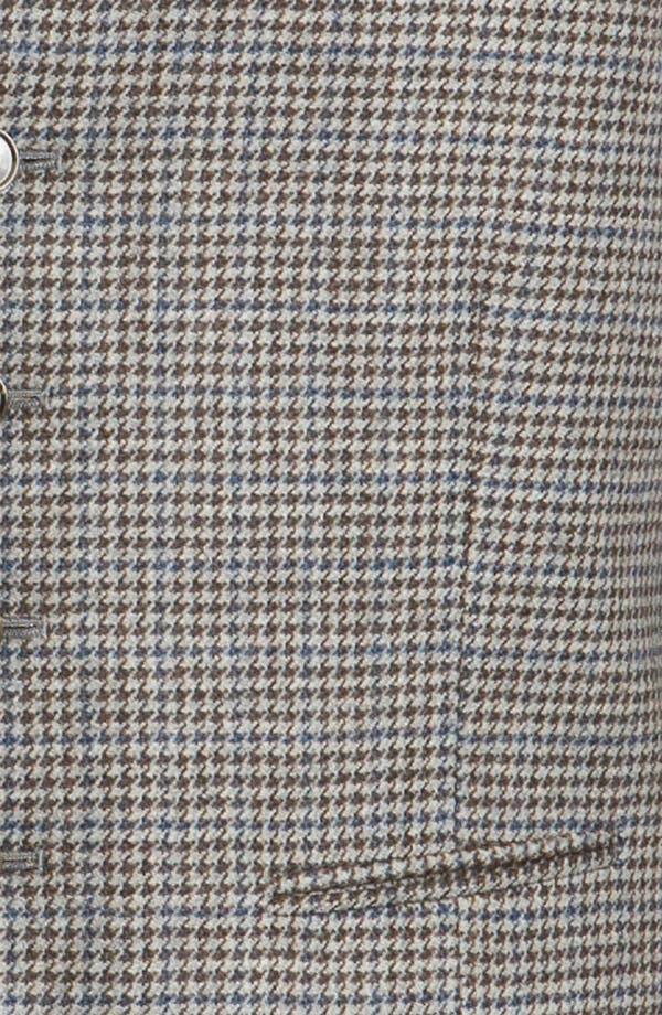 Alternate Image 3  - John W. Nordstrom® Houndstooth Wool Vest