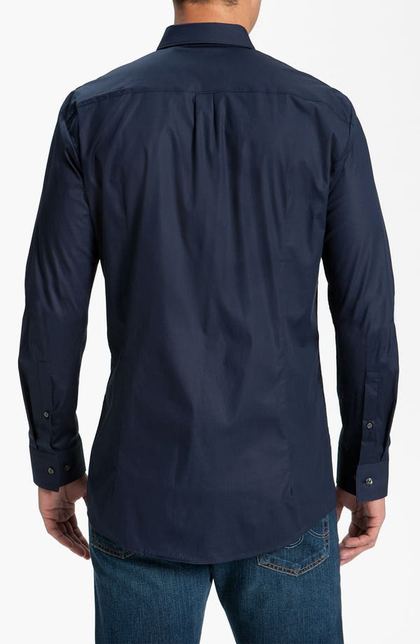 Alternate Image 2  - HUGO 'Eso' Slim Fit Sport Shirt