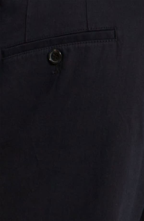 Alternate Image 3  - BOSS Black 'Shap' Twill Cotton Trousers
