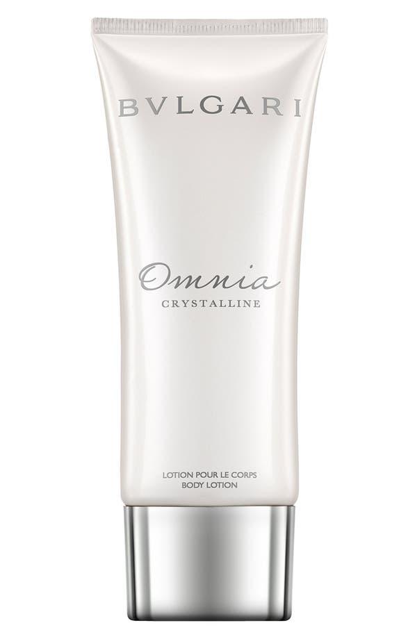 Alternate Image 1 Selected - BVLGARI 'Omnia Crystalline' Body Lotion