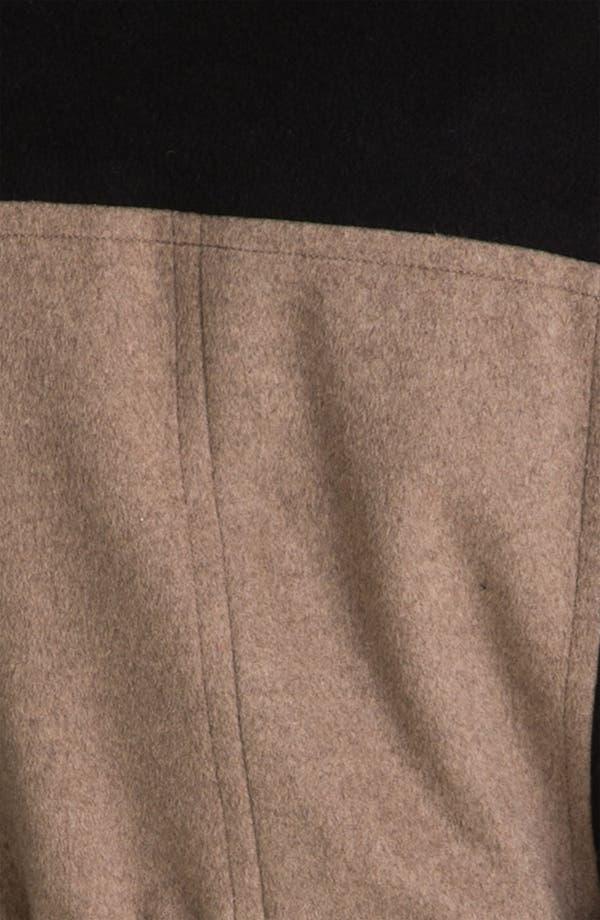 Alternate Image 3  - Calvin Klein Colorblock Belted Coat
