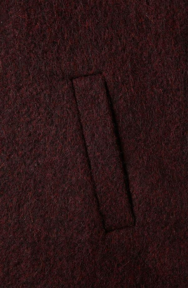 Alternate Image 3  - Topshop Wool Blend A-Line Parka