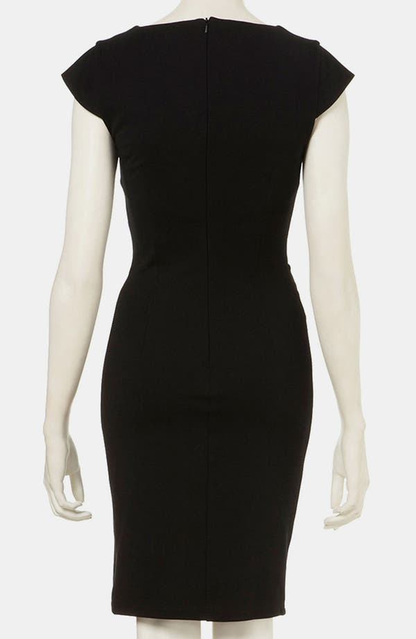 Alternate Image 2  - Topshop Wrap Detail Pencil Dress