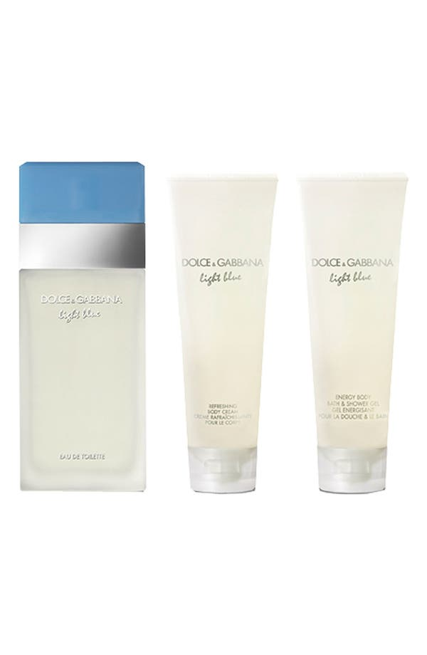 Main Image - Dolce&Gabbana Beauty 'Light Blue' Gift Set ($104 Value)