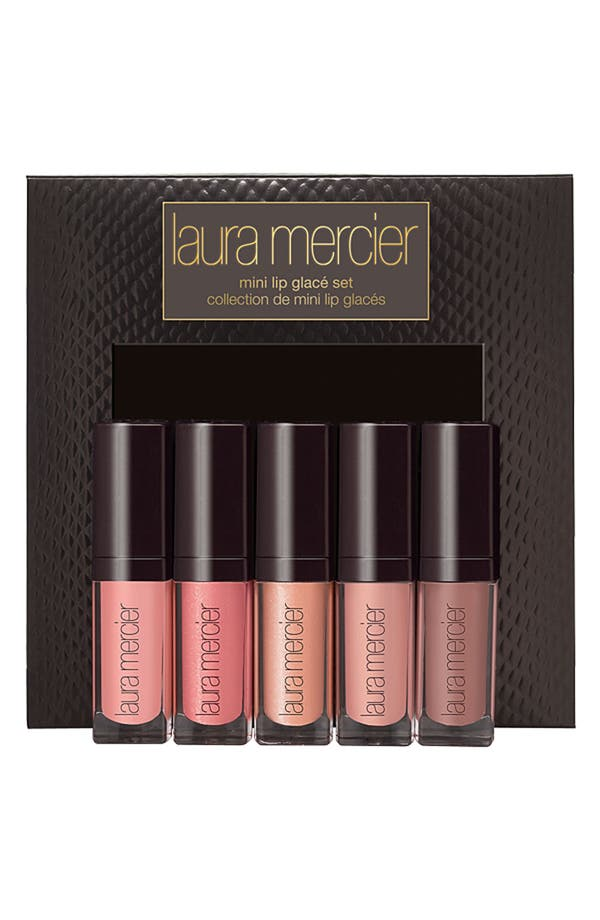 Alternate Image 1 Selected - Laura Mercier 'Soft Nudes' Mini Lip Glacé Collection ($80 Value)