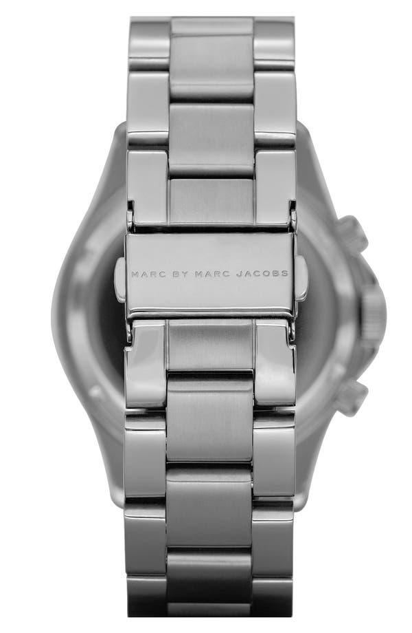 Alternate Image 2  - MARC JACOBS 'Rock' Chronograph Bracelet Watch, 40mm