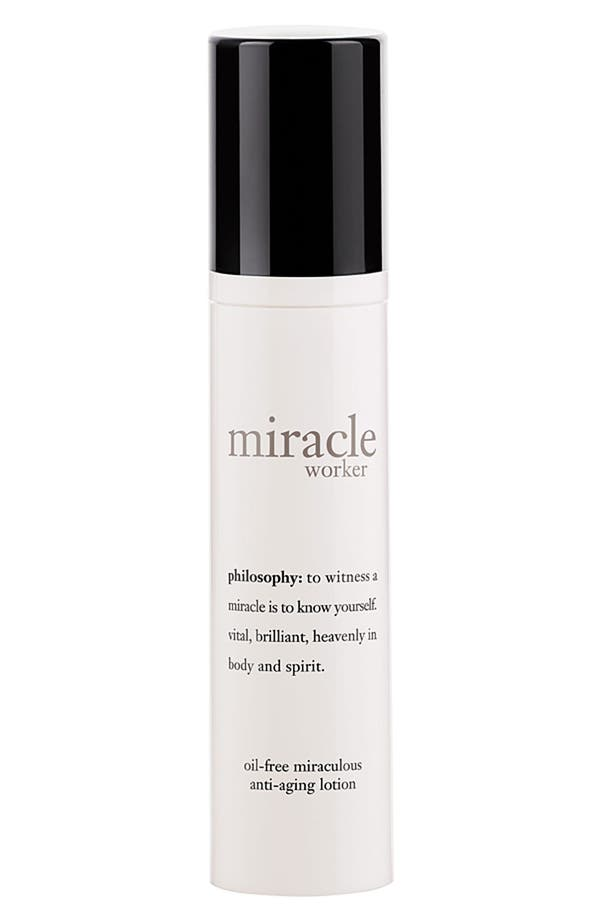 Alternate Image 1 Selected - philosophy 'miracle worker' oil-free miraculous anti-aging lotion