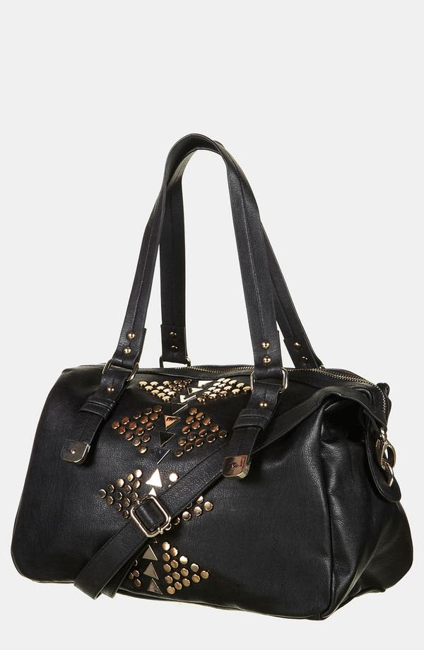 Alternate Image 1 Selected - Topshop Geo Stud Satchel