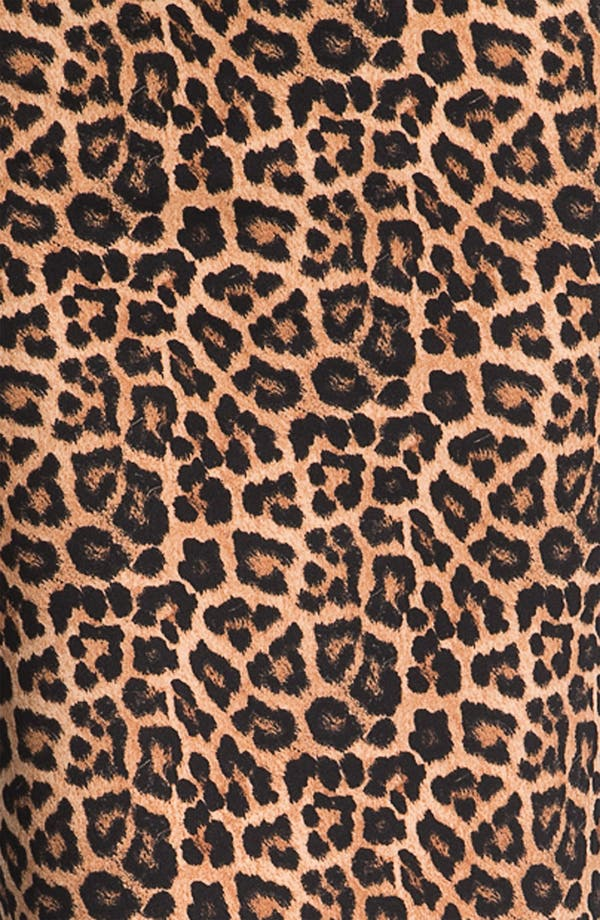 Alternate Image 3  - MICHAEL Michael Kors Jaguar Print Ponte Skirt