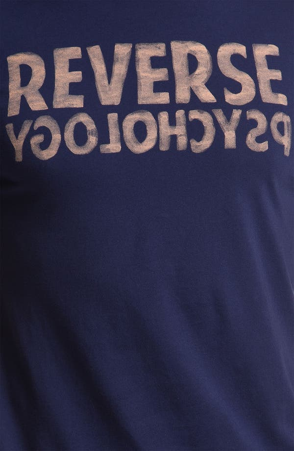 Alternate Image 3  - Chaser 'Reverse Psychology' Graphic T-Shirt