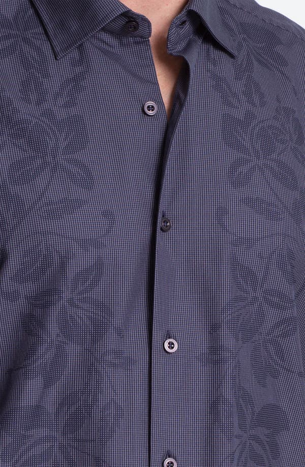 Alternate Image 3  - Tommy Bahama 'Floral Dynasty' Cotton & Silk Sport Shirt