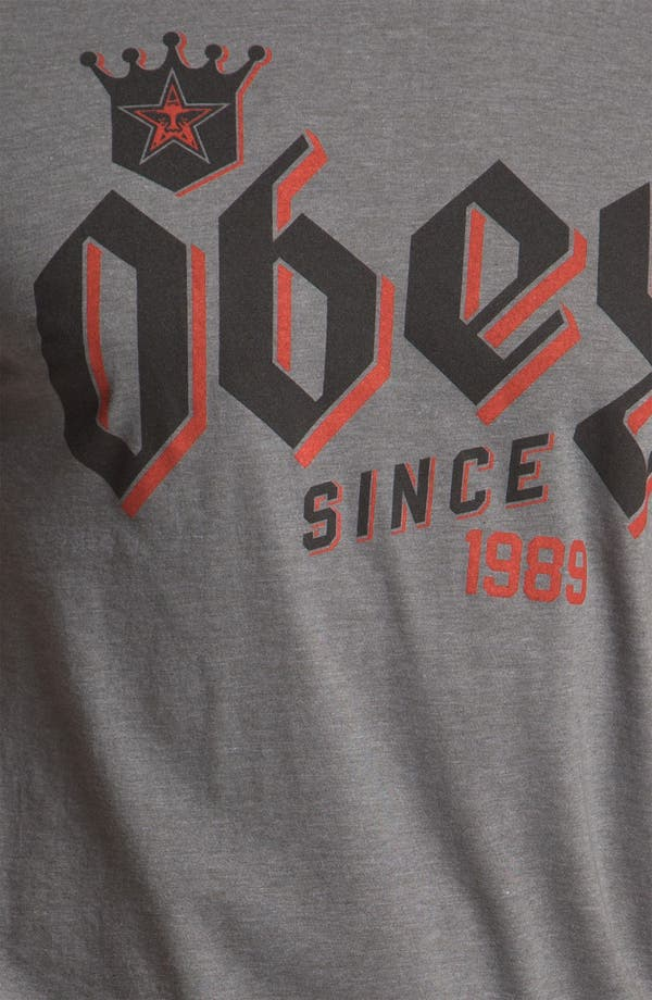 Alternate Image 3  - Obey 'Bar King' Graphic T-Shirt